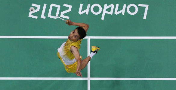 Badminton Mens World Number 1 Lee Chong Wei